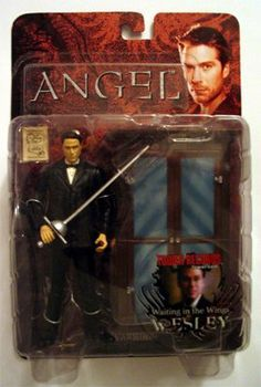 Angel - Buffy the Vampire Slayer Action Figure - Waiting in the Wings Wesley Alexis Denisof by diamond. $12.99. Comes w/ Sword, Weapons case. Wesley Wyndam- Pryce figure from the TV series Angel. Wesley action figure from the TV series Angel - 1st seen on Buffy the Campire Slayer starring Sarah Michelle Gellar. Action figure w/accessories/ Nice details.