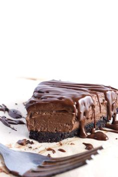 No Bake Vegan Cheesecake #dessers #recipes #voodism #vegan
