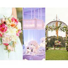 The Year of the Flower - Like the arrangement on the left - cascading - colourful but not too over the top
