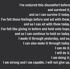Saw this and figured I'd post it just in case anyone needs some motivation to keep going. I won't sugar coat it and say life will always be easy, because it won't, but in the end it is so worth it. I know this is random, but I hope anyone going through hard times and sees this knows that they're not alone.