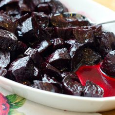 Balsamic-Glazed Roasted Beets Recipe