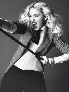 Madonna for L'Uomo Vogue | F.TAPE | Fashion Directory