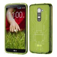 Funda LG G2 Cruzerlite - Bugdroid Circuit Verde  $10.201,70