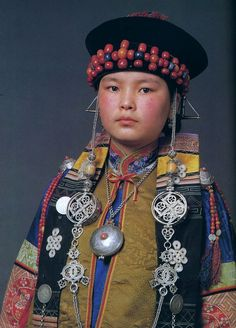 Buryat woman. || National Museum of Mongolia, Ulan Bator