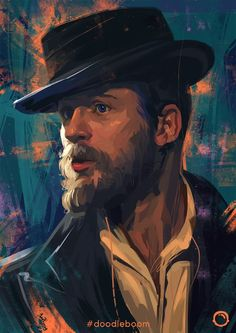 Alfie Solomons Fan Art (Artist Unknown) | Peaky Blinders