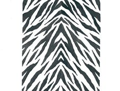Use our Zebra Stripes Furniture Stencil for painted furniture such as tables, chairs, and dressers. Create a chic and trendy mudroom or entry way or bring a fun modern color scheme to a girl's room or