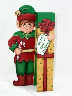 Downloadable Pattern to Paint my Christmas Elf Clothespin Buddy - PDF | astrokeofjeanneius - Patterns on ArtFire