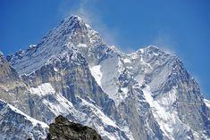 Lhotse West Face, Lhotse South Face, Lhotse Shar Close Up From Kongma La (5535m).