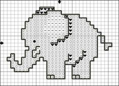 Free cross stitch patterns elephants Click above VISIT link for Small Cross Stitch, Cross Stitch Baby, Cross Stitch Alphabet, Cross Stitch Animals, Cross Stitch Charts, Cross Stich Patterns Free, Cross Stitch Designs, Loom Patterns, Crochet Patterns