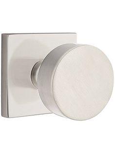Emtek Round Door Knob Modern Interior Door Knob set at 360
