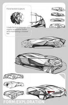 자동차 디자인 드로잉