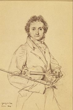 Paganini by J.A.D Ingres