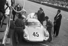 24 Hours of Le Mans 1954. Porsche 550 Spyder Coupe