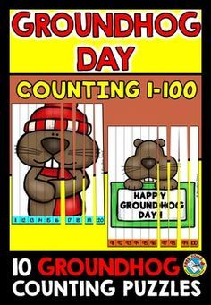 #GROUNDHOG #DAY #COUNTING #PUZZLES: NUMBERS 1 TO #100