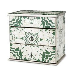 Look what I found at UncommonGoods: reverse hand painted mirror jewelry box... for $225 #uncommongoods