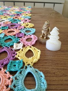 Handmade crochet pareo swimsuit wear multi by NeedleandLine, $150.00
