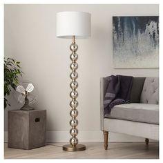 Stacked Ball Floor Lamp - Mercury Glass - Threshold™. Need 1 for Bedroom.