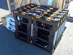 More HTS Systems' HTS-10T Tilt Mount Hand Truck Sentry System units delivered to Morgan Truck Body on Tuesday Aug 23, 2016