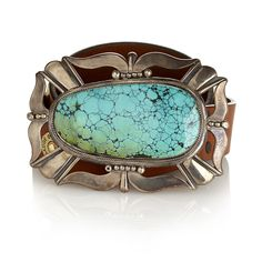 Large | turquoise | Buckle | Silver | Native American | Jewellery | Jessie Western