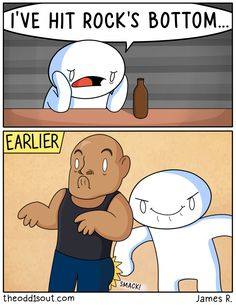 When he was in high school, James Rallison wasn't partying or winning football games like his older brother. Instead, he created the funniest comics ever! comics These 275 Funny Comics By Have The Most Unexpected Endings Funny Shit, Really Funny Memes, Stupid Funny Memes, Funny Relatable Memes, Haha Funny, Funny Cute, Top Funny, Theodd1sout Comics, Cute Comics
