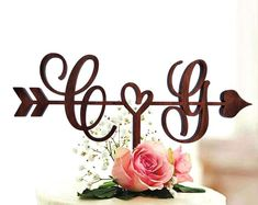 Sweetheart Table Decor Mr and Mrs sign Valentine Day Gift   Etsy Monogram Cake Toppers, Wooden Cake Toppers, Rustic Wedding Cake Toppers, Personalized Wedding Cake Toppers, Heart Wedding Cakes, Sweetheart Table Decor, Wood Initials, Wooden Wedding Signs, Mr And Mrs Wedding