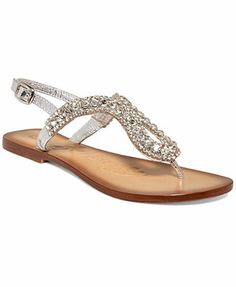 b54d0fa2cf6bc2 Naughty Monkey Pony Pass Flat Thong Sandals love the multi color Sparkly  Sandals