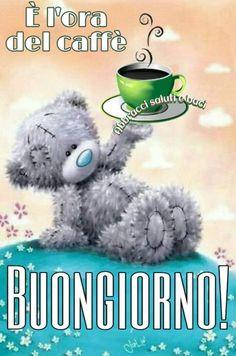 Buon giorno, it's coffee time.