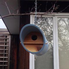 Modern Bird House by WoeberDesigns on Etsy
