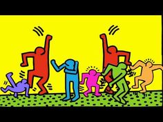 Keith Haring Animated Short With Better Music - YouTube