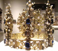 Bohemia  Articulated Crown, 15th century