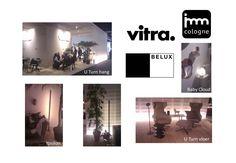 Belux lampen bij Vitra op de IMM Cologne