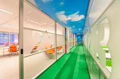 NTI office design by Liong Lie - it looks like an outdoor office!