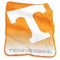 NCAA Tennessee Volunteers Logo Brands Raschel Throw Blanket