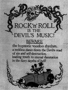 Ignorance certainly was bliss ... compared to today's lyrics, yesterday's rock n' roll was almost hymnal ...
