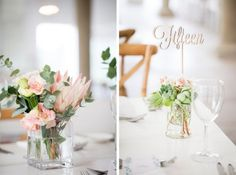 Blushing Bride Protea Wedding by As Sweet As Images | SouthBound Bride