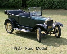 1927 Ford Model T - Information and photos - MOMENTcar