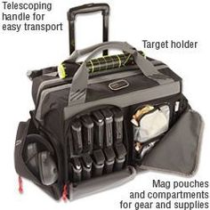 NRA Deluxe Tactical Rolling Range Bag Official Store of the National Rifle  Association ee3c8c8b93fe
