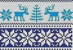 Bitty Taschen Muster stricken Tulip pattern by Deena Thomson-MenardTegan Baby Hat with Fair Isle Knitting Patterns, Knitting Charts, Knitting Stitches, Knitting Designs, Free Knitting, Motif Fair Isle, Fair Isle Chart, Cross Stitching, Cross Stitch Embroidery