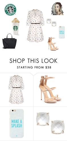 """""""A Trip to Starbucks"""" by brighton24 ❤ liked on Polyvore featuring Yumi, Giuseppe Zanotti, Kate Spade, NBD and Thisismystyle"""