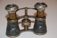 Antique 1800 Paris France Opera Binoculars Marked Chevalier | eBay