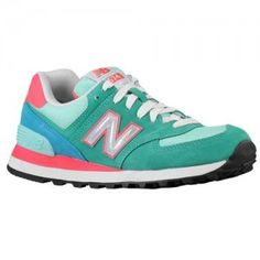 Outlet UK New Balance 574 Hologram Pack Trainers Womens Teal/Blue/Bittersweet/White/Black UK Sale