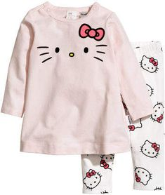 4b29715b2 H&M Dress and Leggings - Pink Pink Hello Kitty, Pink Leggings, Organic  Cotton,