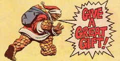 Ben Grimm The Thing Santa Christmas