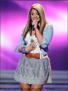 Thia Megia on American Idol Season 10: April 2011