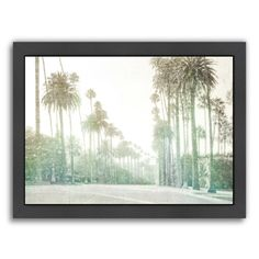 Found it at Wayfair - Driving in Beverly Hills by Golie Miamee Framed Photographic Print