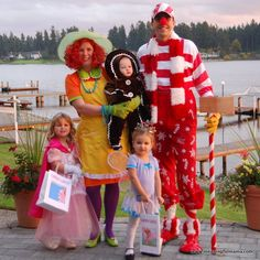 candy land family halloween costume