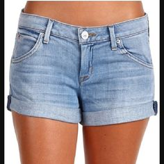 Hudson Hampton Cuffed Shorts So sad these don't fit me! These are a re-posh and don't appear to have ever been worn. Great condition. Color is I Got Soul. Love them but they're just too big. My loss is your gain  Hudson Jeans Shorts Jean Shorts
