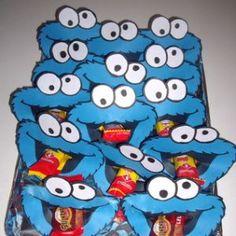 Koekiemonster Healthy Treats For Kids, Fruit Snacks, School Parties, Party Treats, Baby Party, Boy Birthday, Kids Meals, Birthdays, Crafts