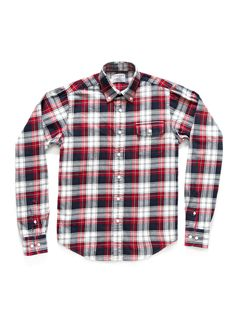 GANT BY MICHAEL BASTIAN  The Plaid Flannel Shirt