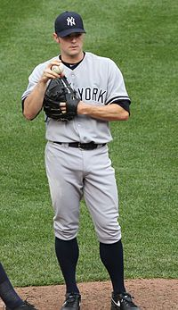 David Robertson, Relief pitcher NY Yankees, from Birmingham, AL